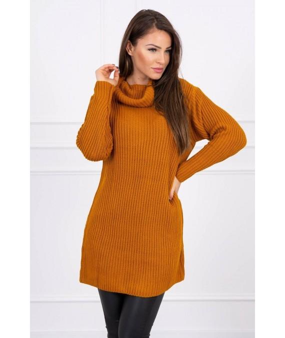 Plonas megztinis (Lapės spalva)