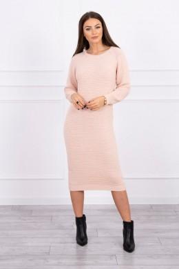 Megzta Šilta suknelė (Šviesiai) (Rožinė)