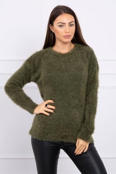 Hair sweater (Khaki)