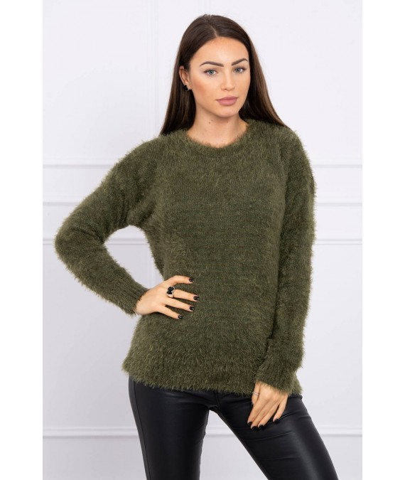 Hair sweater (Khaki)