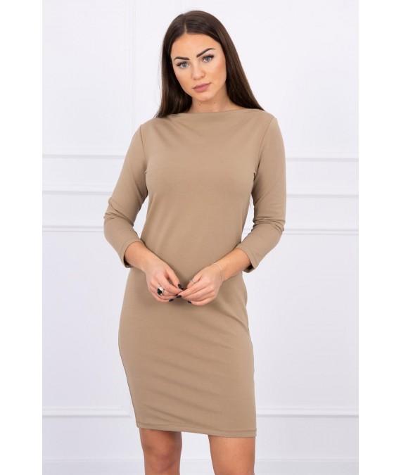 Klasikinė suknelė (Šviesiai ruda)