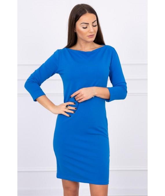 Klasikinė suknelė (Mėlyna)