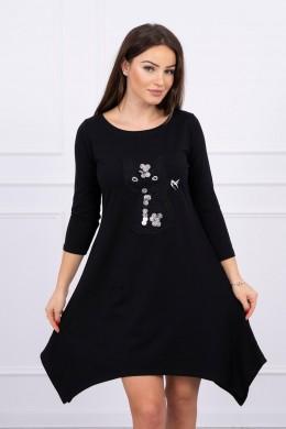 Suknelė Black Cat (Juoda)