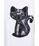 Suknelė Black Cat (Balta)