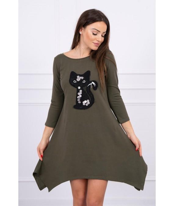 Suknelė Black Cat (Khaki)