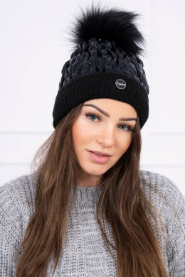Kepurė K160 (Juoda) shiny