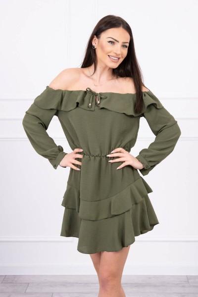 Žavinga suknelė (Khaki)