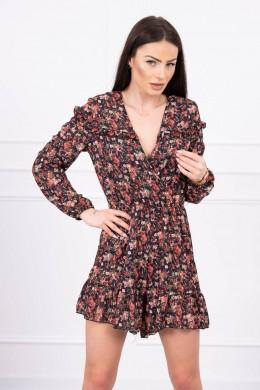 Floral suit (Juoda)