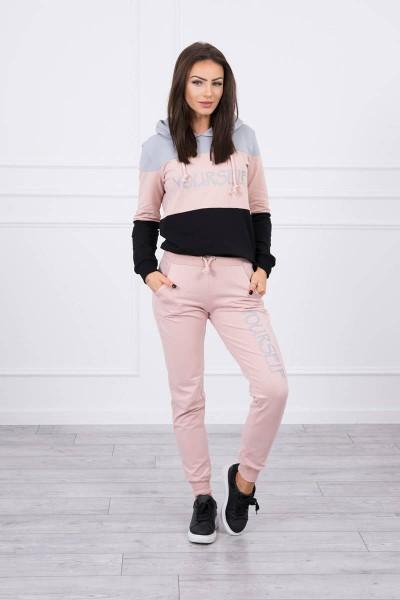 Patogus ir stilingas kostiumėlis (Pilka)+(Tamsi) (Šviesiai) (Rožinė)