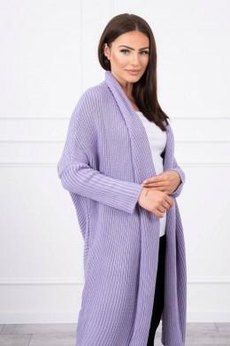 Megztinis su kimono tipo rankovėmis (Violetinė)