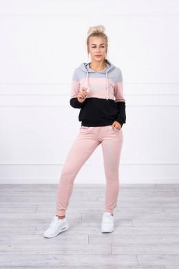 Patogus ir stilingas kostiumėlis (Pilka) + (Šviesiai Rožinė)