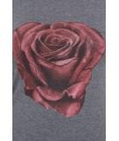 Palaidinė su rože, (Grafito) (Švelnios spalvos)