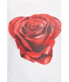 Palaidinė su rože, (Šilko spalva)