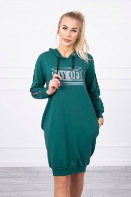 Suknelė su atšvaitu (Žalia)