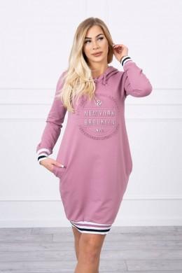 """""""Brooklyn"""" suknelė (Tamsiai rožinė)"""