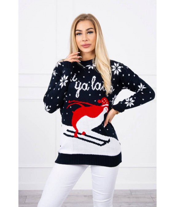 Kalėdinis megztukas (Juoda)
