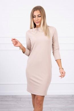 Klasikinė suknelė (Smėlio spalva)
