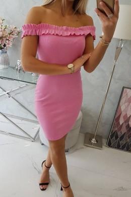 Vasariška suknelė (Šviesiai rožinė)