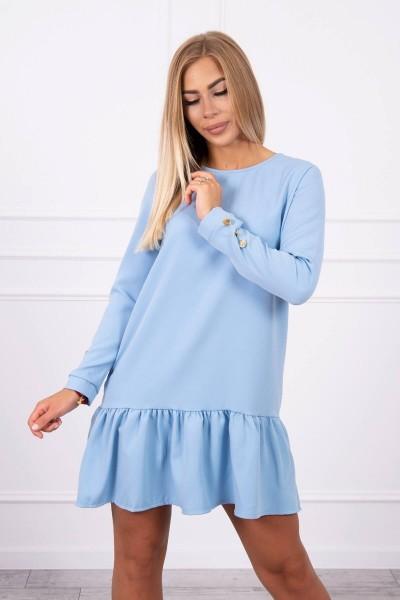 Klostuota suknelė (Mėlyna)