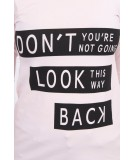 Palaidinė - Don't Look Back, (Šviesiai) (Rožinė)