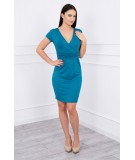 Žavinga suknelė (Jūros spalva)