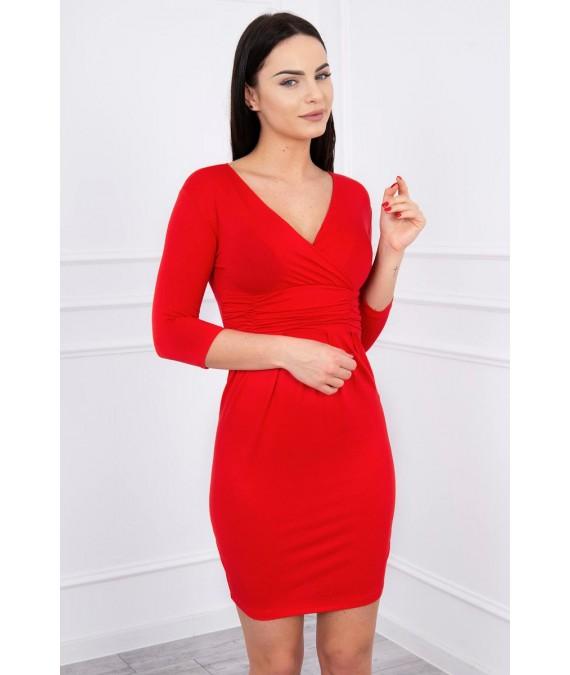 Suknelė su iškirpte (Raudona)