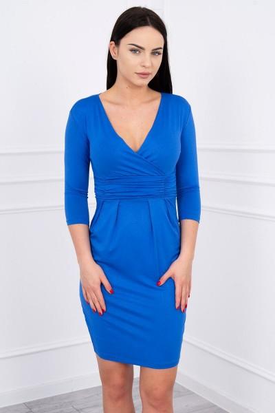 Suknelė su iškirpte (Mėlyna)