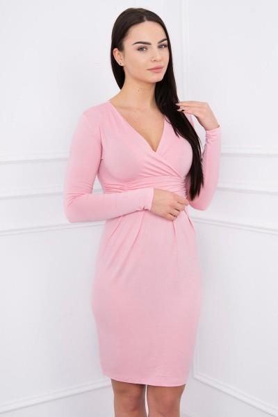 Suknelė su iškirpte (Šviesi) (Rožinė)