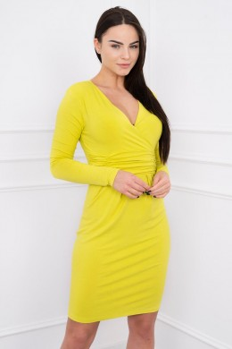 Suknelė su iškirpte (Kivio spalva)