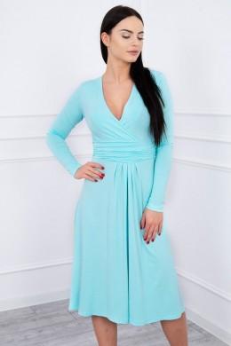 Suknelė su lengvai aptemta zona po krūtine (Mėtos)