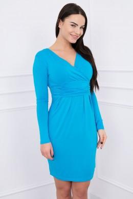 Suknelė su iškirpte (Turkio spalva)