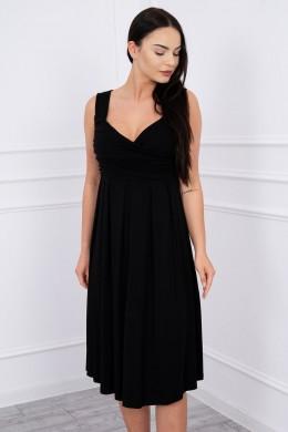 Suknelė su raišteliu (Juoda)