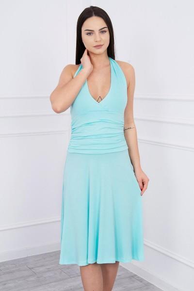 Suknelė su apykakle (Mėtos)