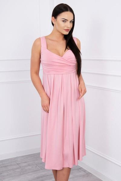 Suknelė su raišteliu (Šviesiai) (Rožinė)