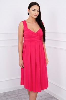 Suknelė su raišteliu (Fuksijos)