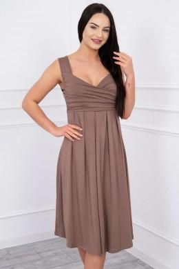 Suknelė su raišteliu (Kapučino)