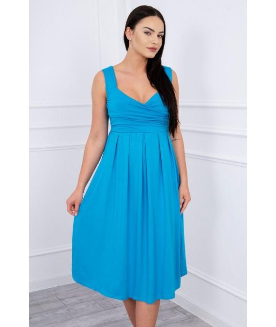 Suknelė su raišteliu (Turkio spalva)