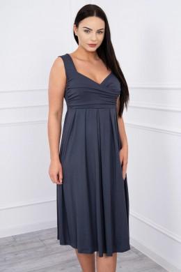 Suknelė su raišteliu (Grafito)