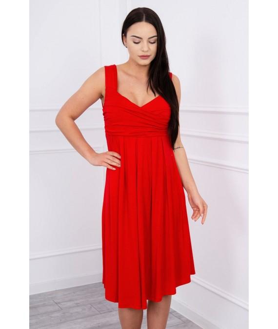 Suknelė su raišteliu (Raudona)