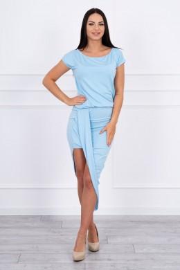 Asimetriška suknelė (Mėlyna)