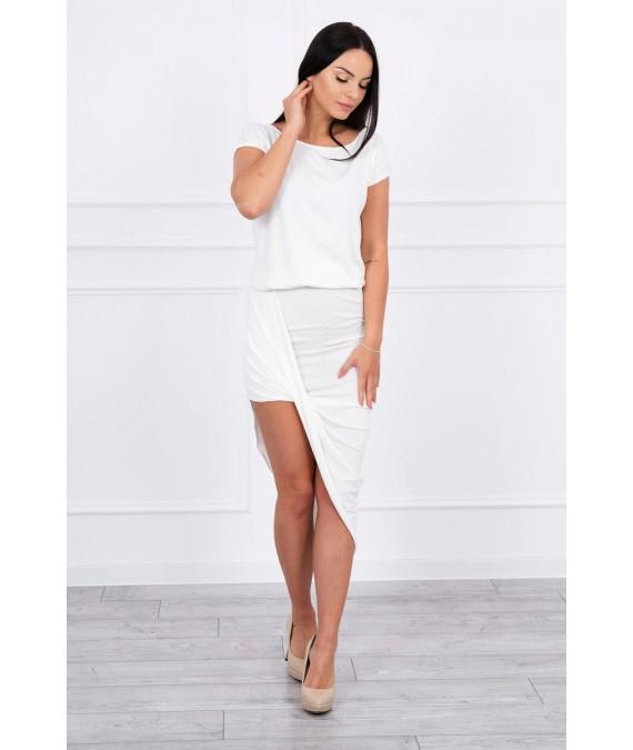 Asimetriška suknelė (Šilko spalva)